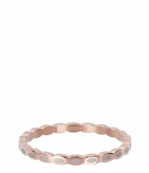 iXXXi Ring Oval shape Rosé colored (02)