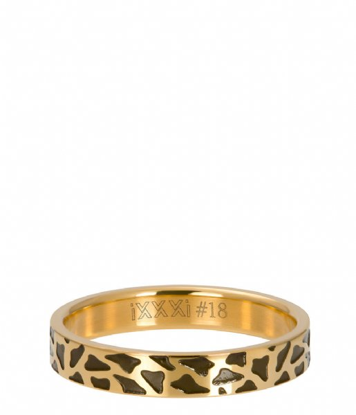 iXXXi Ring Panther Gold colored (01)