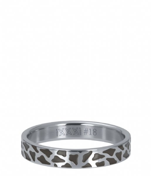 iXXXi Ring Panther Silver colored (03)