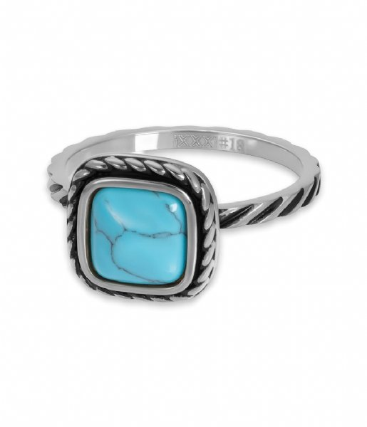 iXXXi Ring Summer Turquoise Silver colored (03)