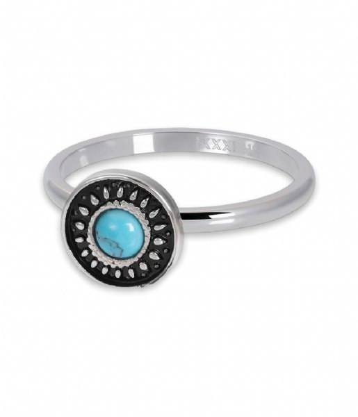 iXXXi Ring Vintage Turquoise Silver colored (03)