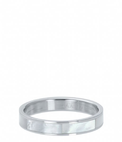 iXXXi Ring Shell cover Silver colored (03)