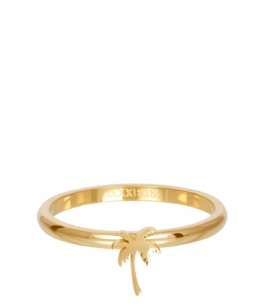 iXXXi Ring Symbol palm tree Gold colored (01)