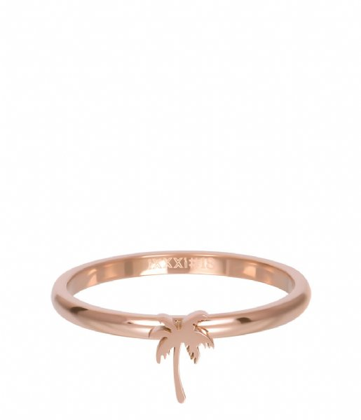 iXXXi Ring Symbol palm tree Rosé colored (02)
