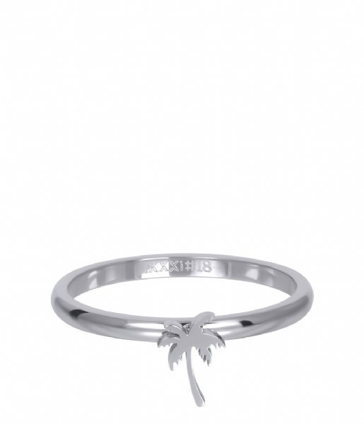 iXXXi Ring Symbol palm tree Silver colored (03)