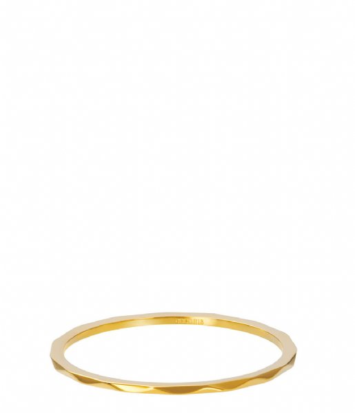 iXXXi Ring Wave Gold colored (01)