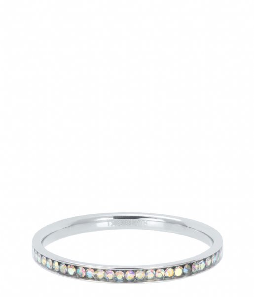 iXXXi Ring Zirconia AB crystal Silver colored (03)