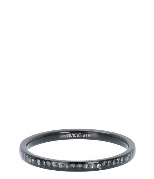 iXXXi Ring Zirconia crystal Black (05)