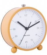 Karlsson Alarm clock Pellet Feet matt Orche Yellow (KA5787YE)
