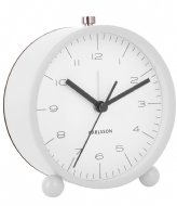 Karlsson Alarm clock Pellet Feet matt White (KA5787WH)