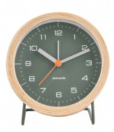 Karlsson Alarm clock Innate Design Boxtel & Buijs Green (KA5669GR)