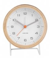 Karlsson Alarm clock Innate Design Boxtel & Buijs White (KA5669WH)