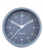 Karlsson Alarm clock Tinge steel Blue (KA5806BL)