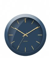 Karlsson Wall clock Globe Design Armando Breeveld dark blue (KA5840BL)