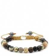 Karma Spiral Gold at Night XS Gold colored