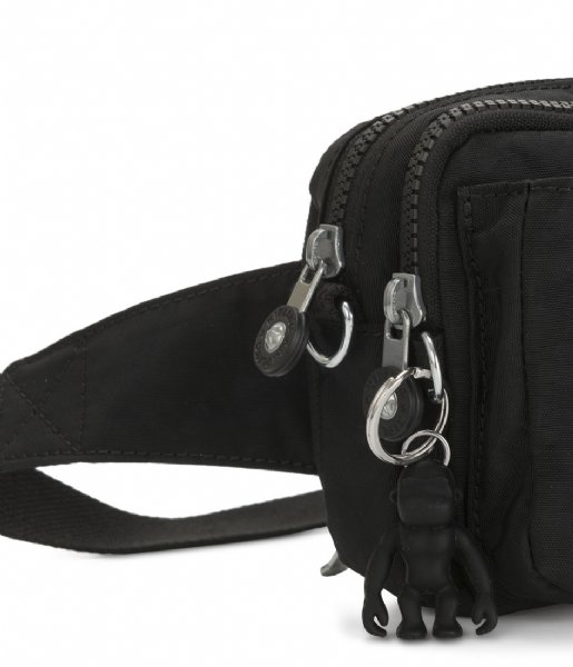 Kipling Heuptas Abanu Multi Small Crossbody black noir