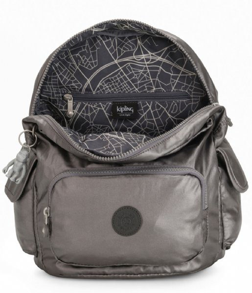 Kipling Dagrugzak City Pack S Carbon Metallic (KPKI353929U1)