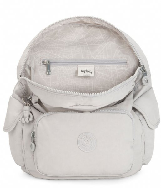 Kipling Dagrugzak City Pack S Curiosity Grey (KPK1563519O1)