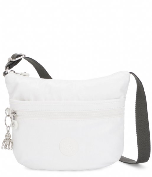Kipling Schoudertas Arto Small white metallic (K1014647I)