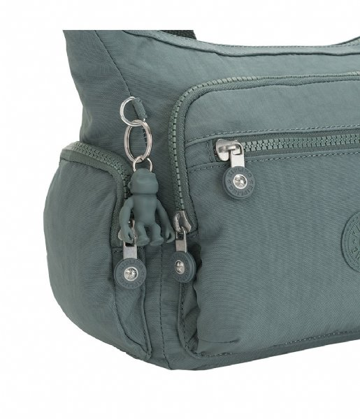 Kipling Schoudertas Gabbie light aloe