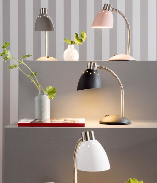Leitmotiv Tafellamp Table Lamp Dorm Matt Grey (LM1779)