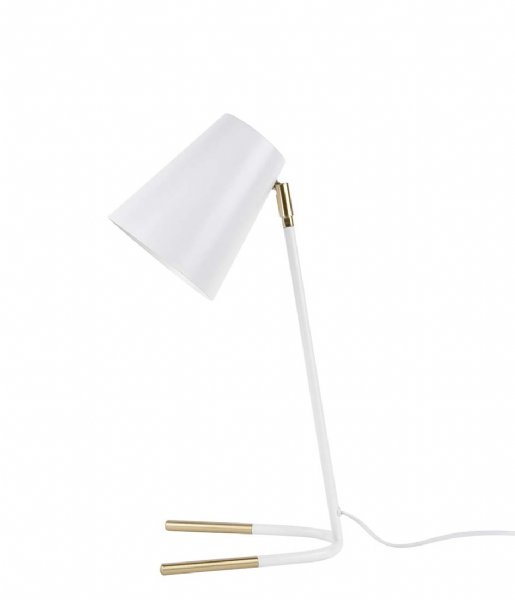 Leitmotiv Tafellamp Table lamp Noble metal white with gold colored accents (LM1753)