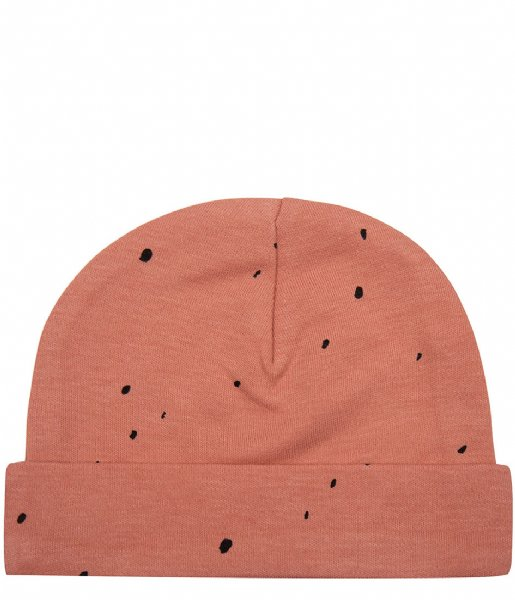 Little Indians Muts Beanie Dots Canyon Clay (BE07-CC)