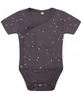 Little Indians Onesie Shortsleeve Dots Pavement (ONSH01-PAV)