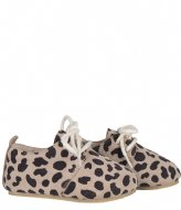 Little Indians Bootie Oxford Leopard Big Taupe