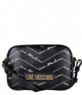 LOVE MOSCHINO Borsa Small Grain nero KH0000Q3-20