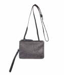 Merel by Frederiek Clutches Sparkling Hazy Bag Zilverkleurig