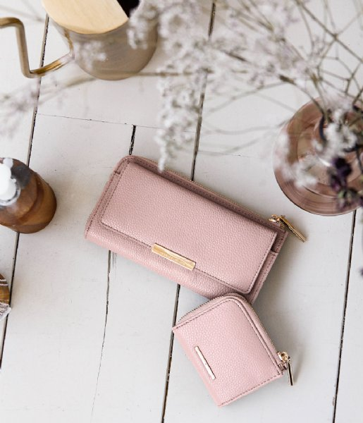 Mister Miara Ritsportemonnee Ivy Purse wallet Rose Dawn