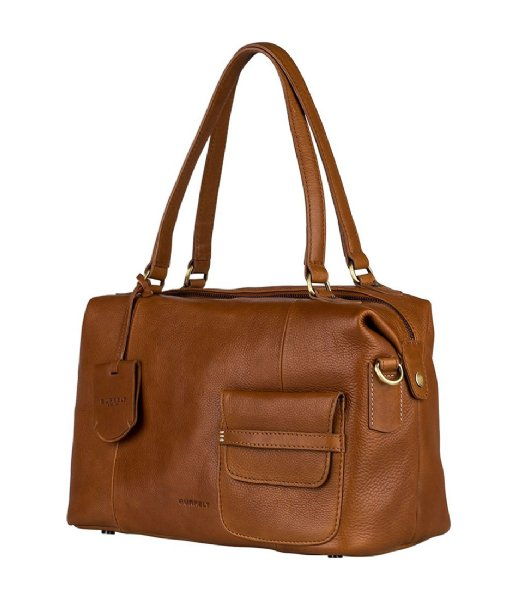 Burkely Schoudertas 546247 Craft Caily Tan