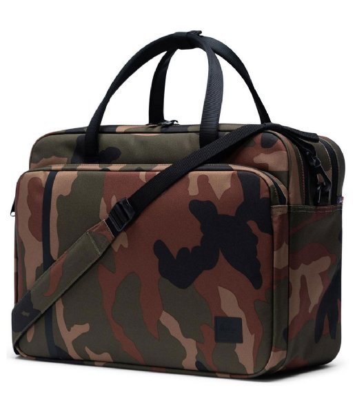 Herschel Supply Co. Laptop schoudertas Gibson Large Woodland Camo