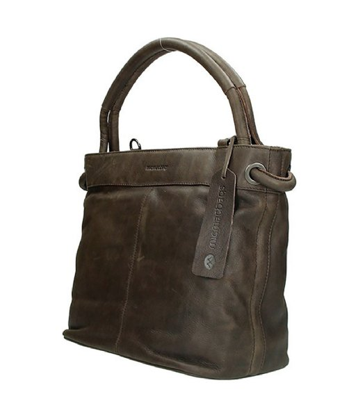 MicMacbags Handtas 16400 Tennessee Donkerbruin