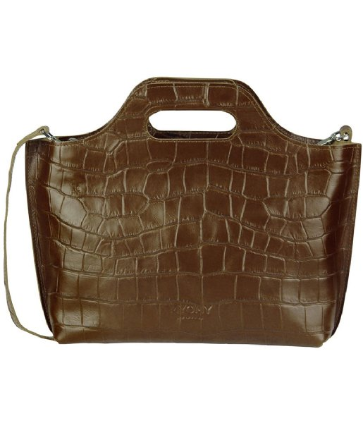 MYOMY Handtas MYOMY MY CARRY BAG Handbag Croco Original