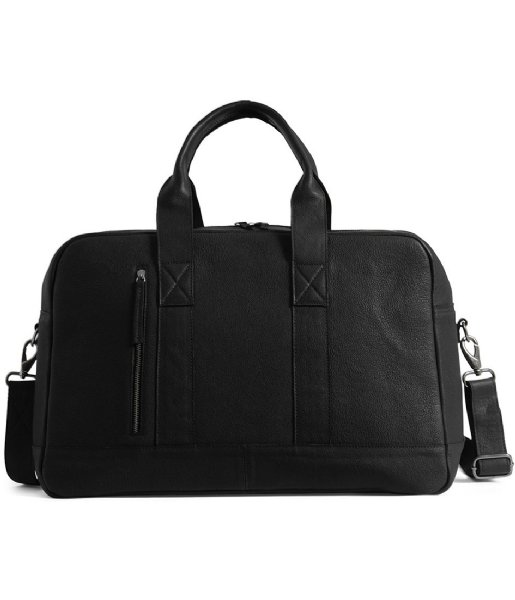 Still Nordic Schoudertas Dundee Weekend Bag Zwart