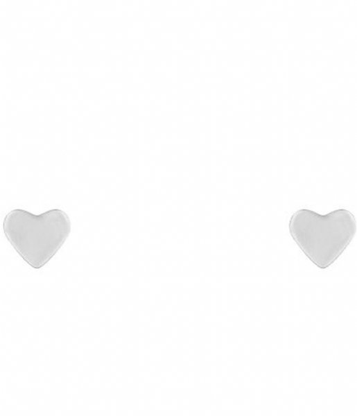 My Jewellery Oorbellen Small Stud Heart silver colored (1500)