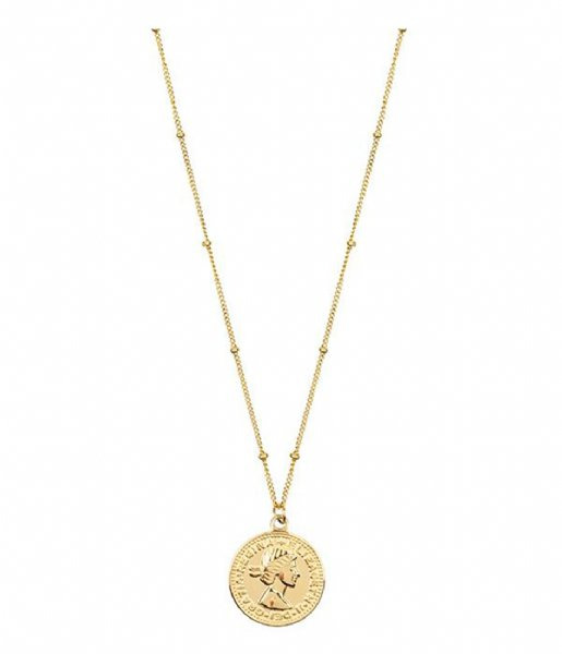 My Jewellery Ketting Necklace Coin Elizabeth goudkleurig (1200)