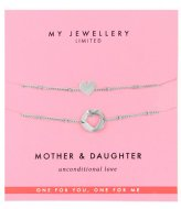 My Jewellery Mother & Daughter Bracelet zilverkleurig (1500)