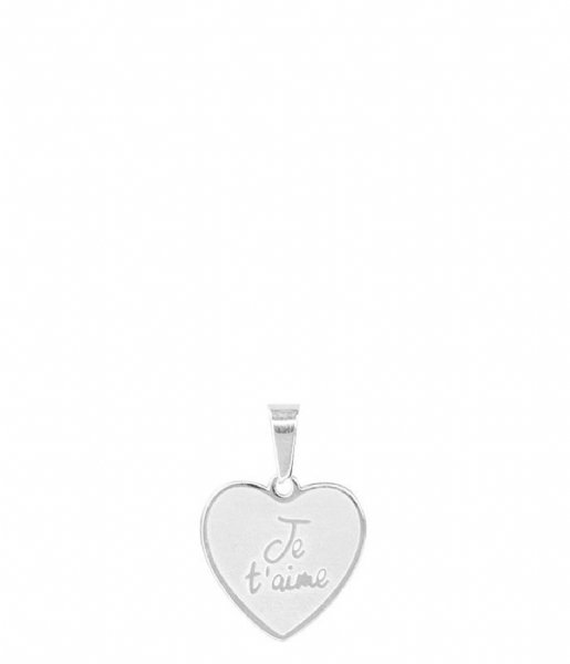 My Jewellery Ketting Custom Charm Je Taime silver colored (1500)