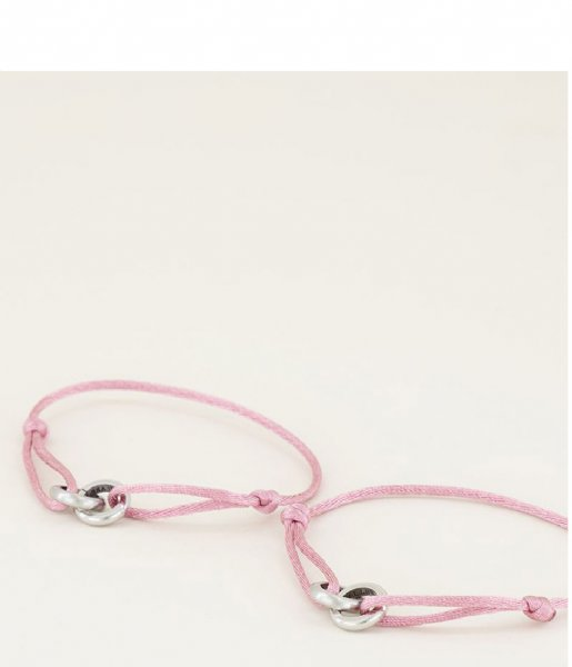 My Jewellery Armband Forever Connected Armband Roze silver colored (1500)