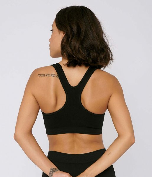 Organic Basics Top SilverTech Active Workout Bra black