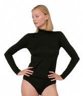 Organic Basics TENCEL Lite Turtleneck black