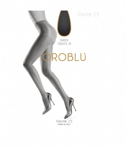 Oroblu Panty Vanite Panty Satin 15 Denier nearly black (9900)