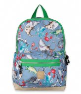 Pick & Pack Mix Animal Backpack M 13 Inch Cloud grey