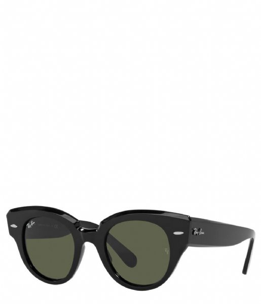 Ray Ban Zonnebril Icons Roundabout Black (901/31)