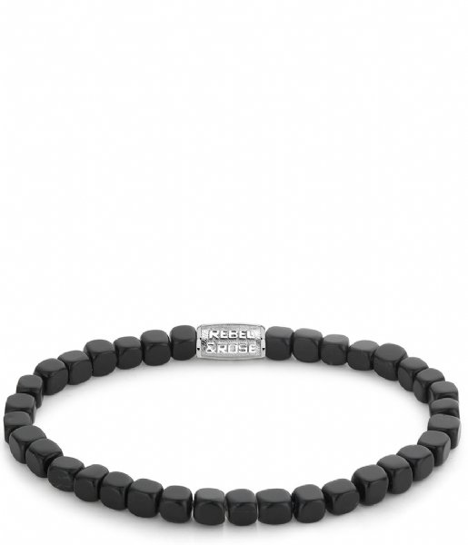 Rebel and Rose Armband Roll The Dices The Black Stone Bracelet The black stone
