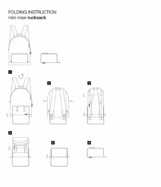 Reisenthel Dagrugzak Mini Maxi Rucksack black (AP7003)