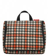 Reisenthel Toiletbag XL glenchek red (WO3068)